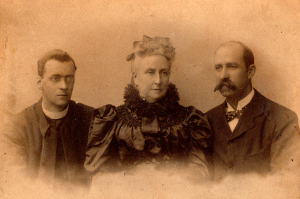 Philip, Celia, and Alfred OBryen