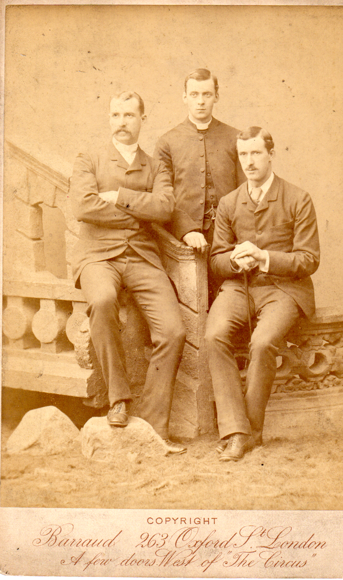 Alfred, Philip, & Ernest O'Bryen 1