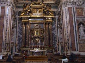 Borghese chapel Santa Maria Maggiore