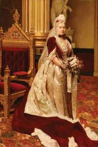Bennison, E. R.; Lady Knill, Wife of Sir Stuart Knill, Lord Mayor of London (1892-1893); City of London Corporation; http://www.artuk.org/artworks/lady-knill-wife-of-sir-stuart-knill-lord-mayor-of-london-18921893-52065