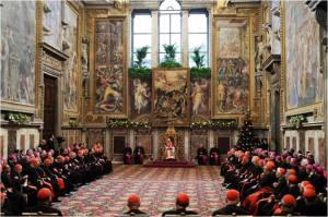 pope in sala regia