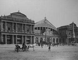 Stazione Termini Roma c.1890