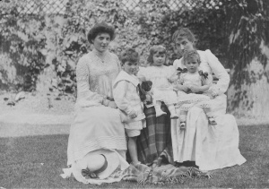 Agnes and Charles Bellord with others - Purssells possibly.