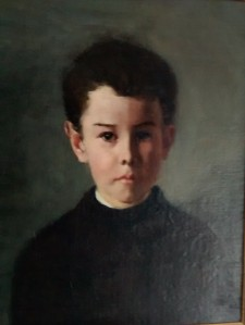 Rex Elworthy aged about 12.