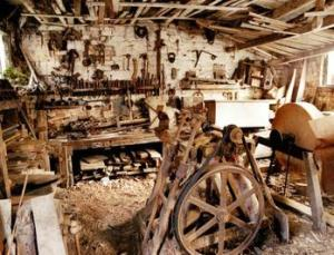 Wheelwright's workshop