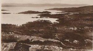 Glengarriff-Harbour-Co-Cork-Ireland-RP-Postcard-0835