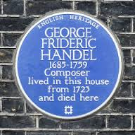 georg-frideric-handel-plaque