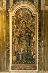 mosaic of joan of arc